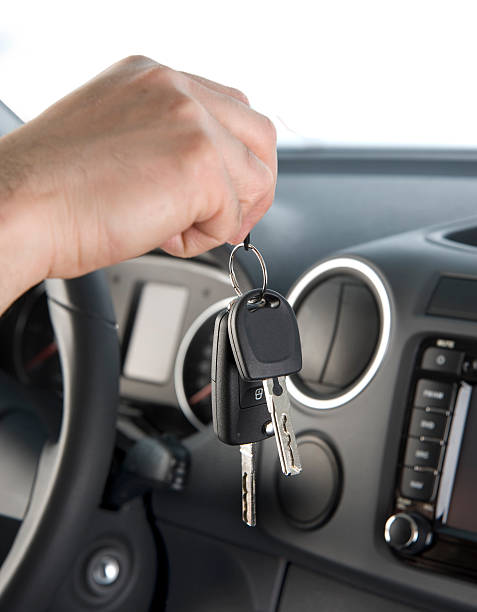 New Car Keys stock photo