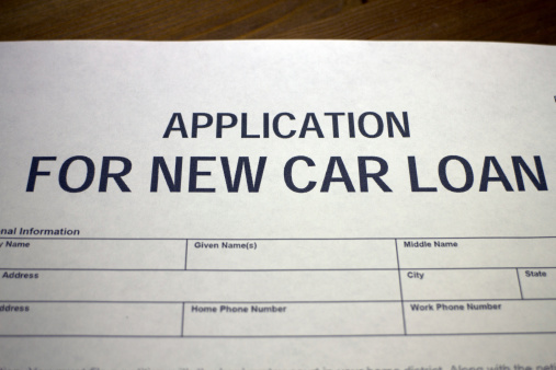 512011833 istock photo New car loan application 512011833