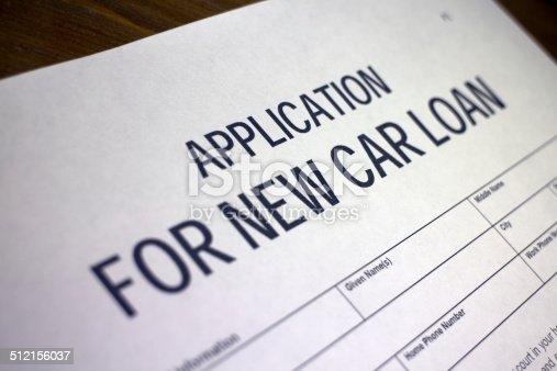 512011833istockphoto New car loan application 512156037