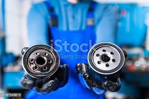 Car, Motor Oil, Filtration, Change, Auto Repair Shop