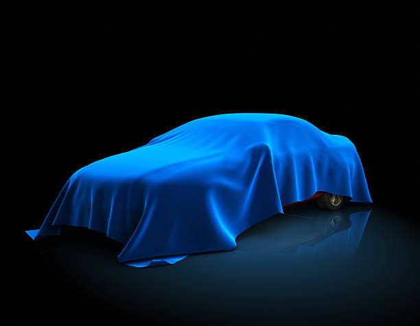 new car presentation - covering stock photos and pictures