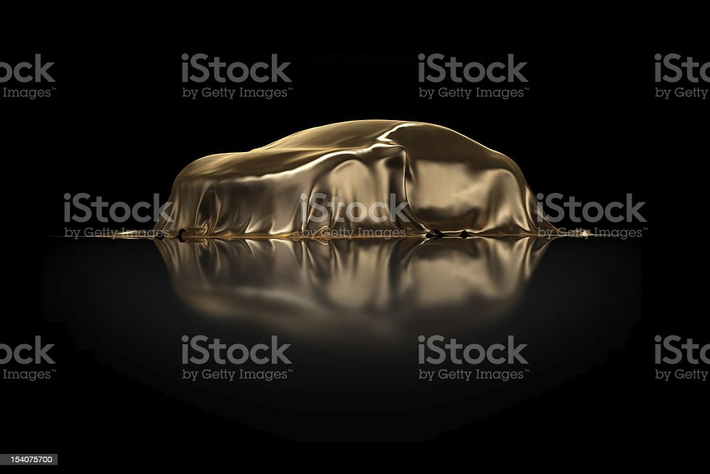 New car Presentation royalty-free stock photo