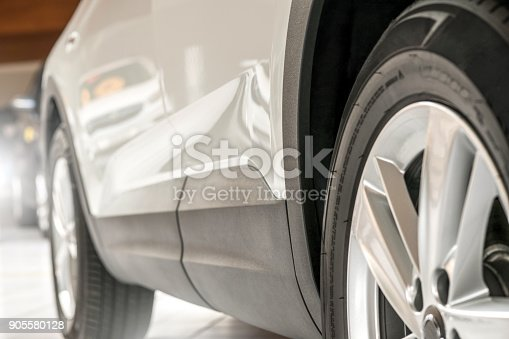 istock New car - side view 905580128