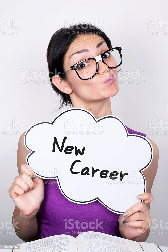 New Career stock photo