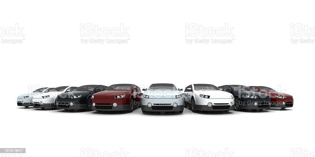 Novos carros - foto de acervo