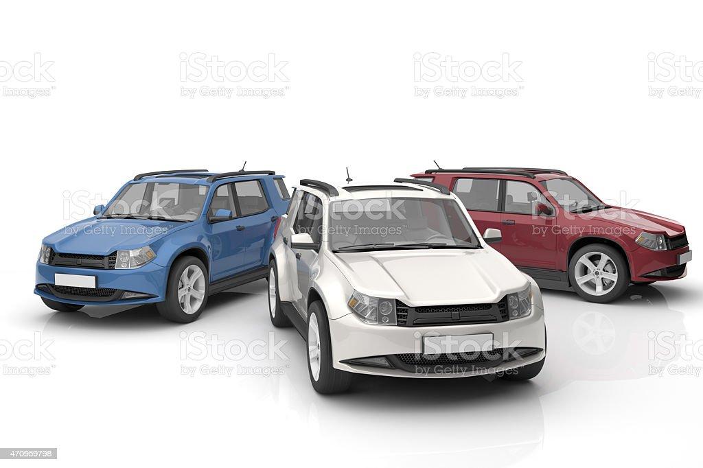 New Cars royalty-free stock photo