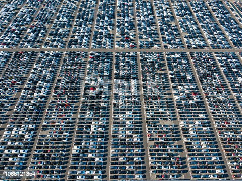 652712094 istock photo New cars storage parking 1066121354