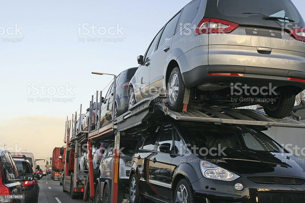 New cars transportation # 2 royalty-free stock photo