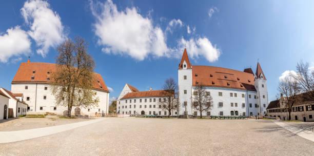 New castle in Ingolstadt, Germany stock photo