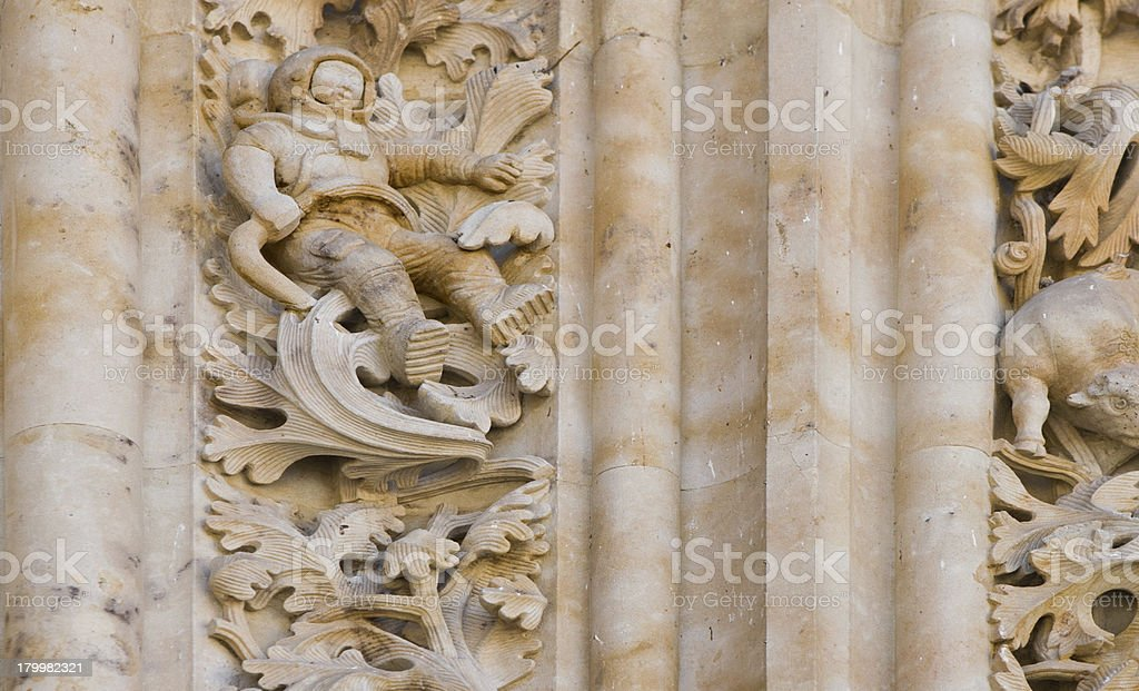 New Cathedral Astronaut royalty-free stock photo