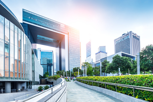 istock New Central Government Complex, Hong Kong 1154272715