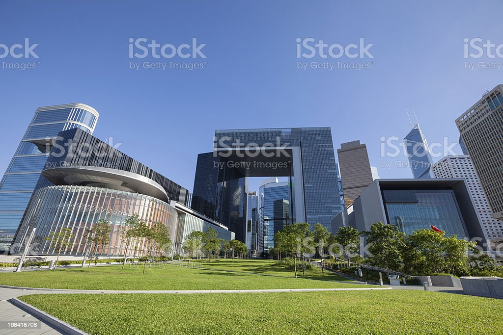 New Central Government Complex stock photo