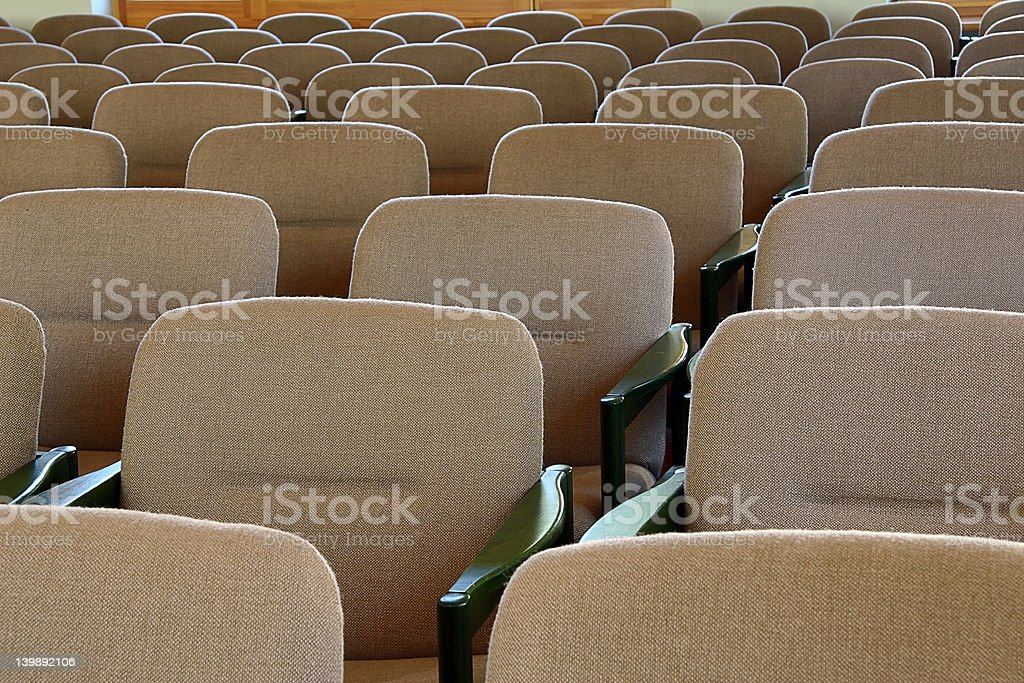 New chairs royalty-free stock photo