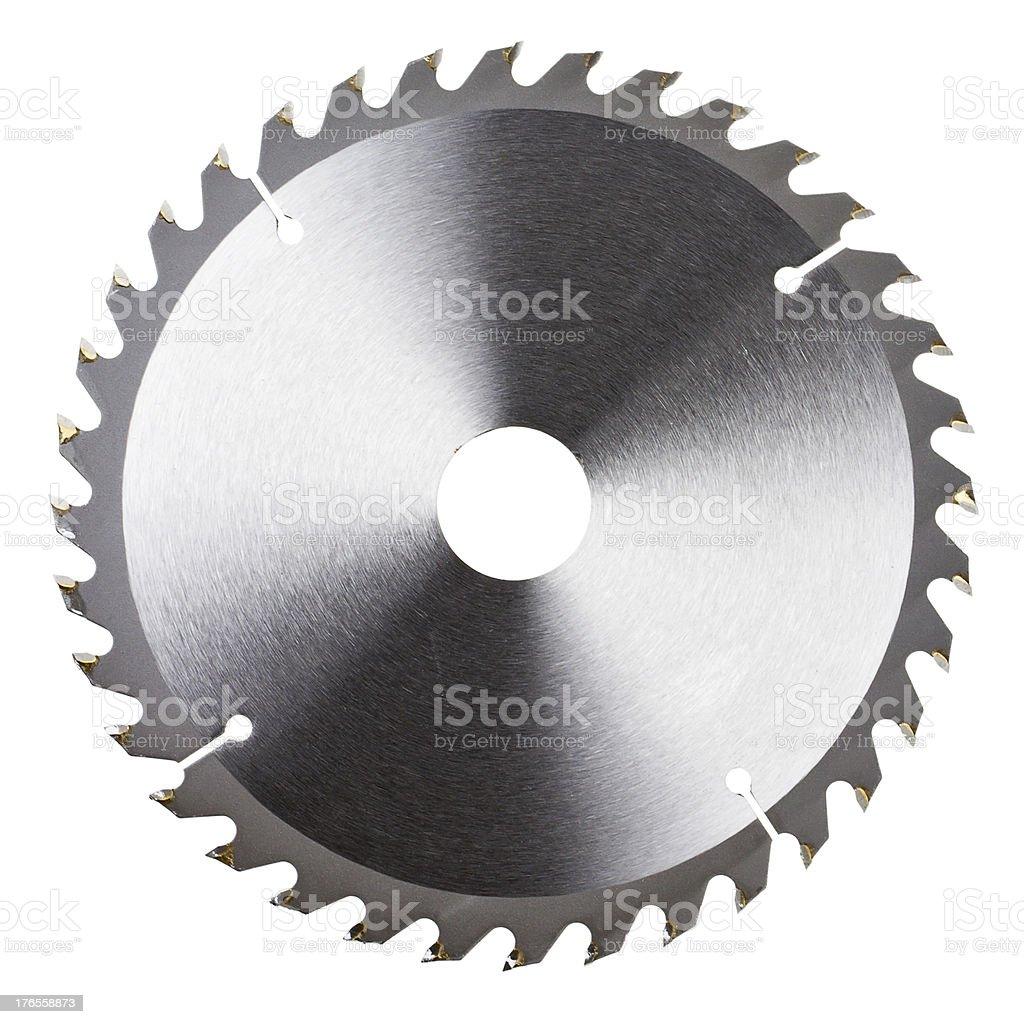 New circular saw blade stock photo