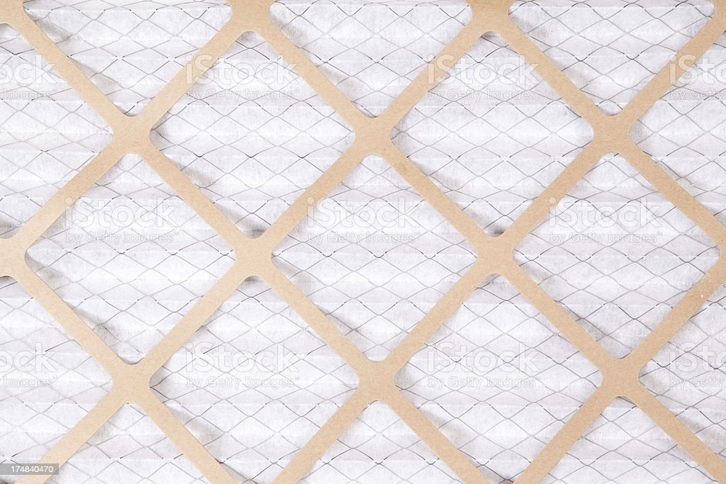 New Clean House Furnace Air Filter stock photo