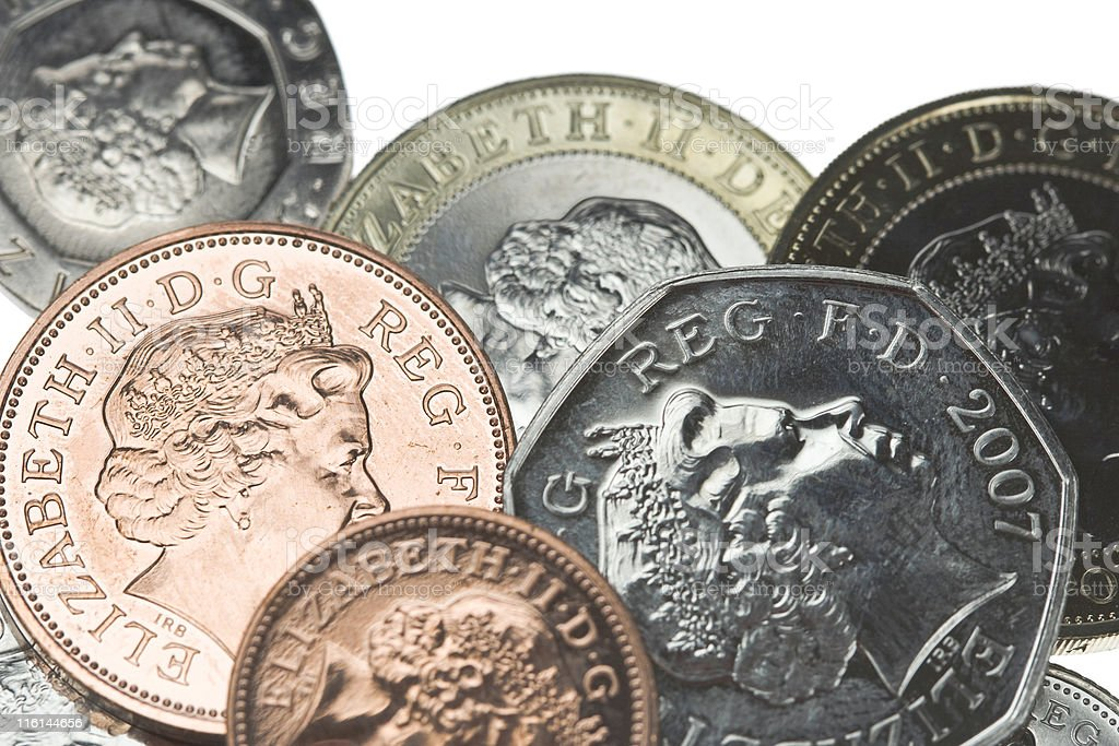 New Coins royalty-free stock photo