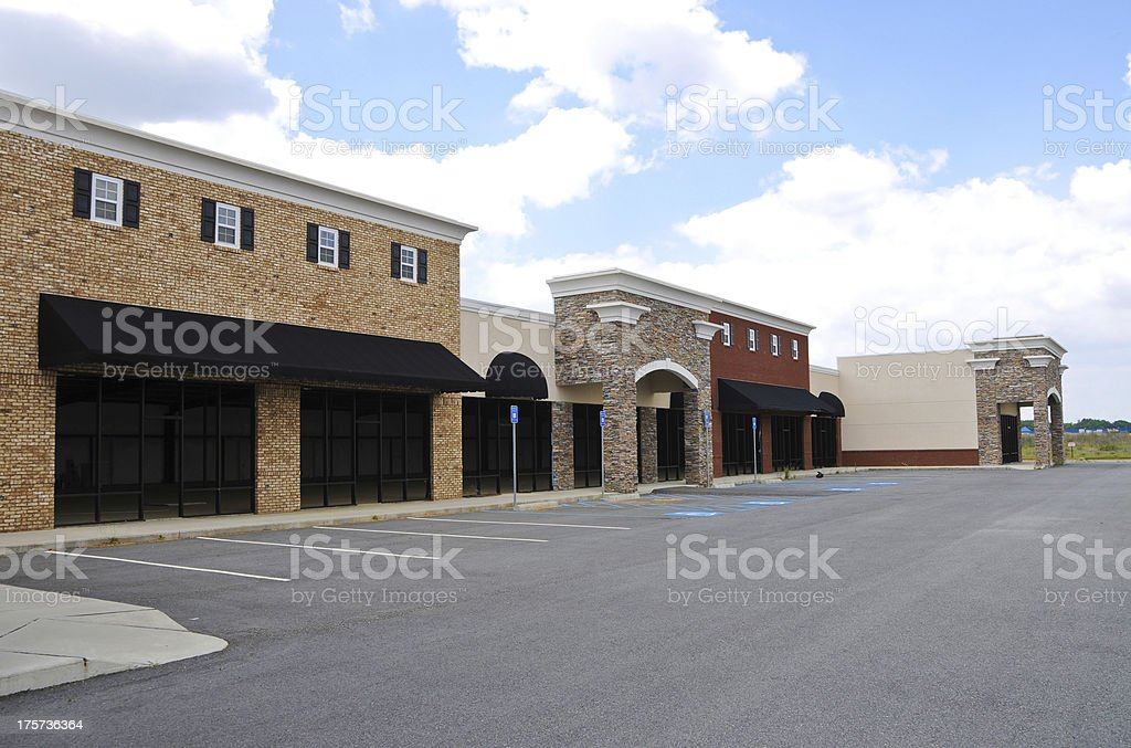 New Commercial Building royalty-free stock photo