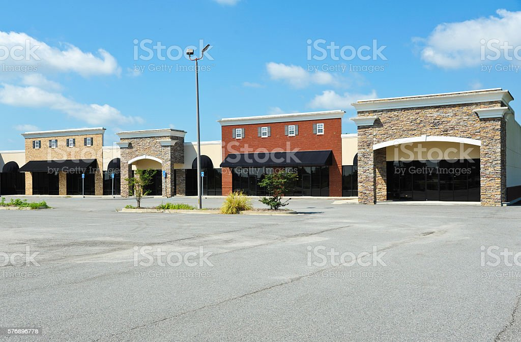 New Commercial Building stock photo
