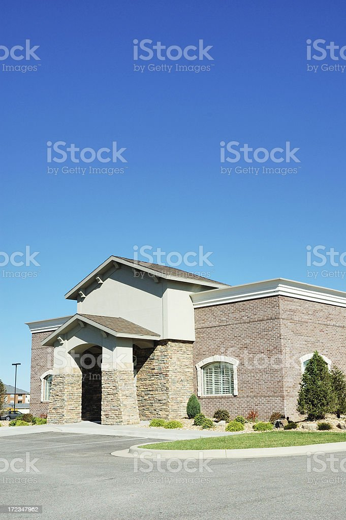 New Commercial Real Estate Location royalty-free stock photo