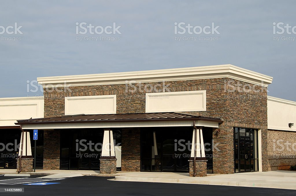 New Commercial Space stock photo