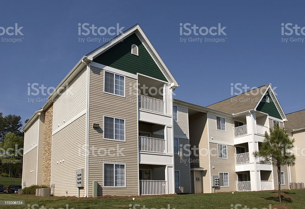 New Condominium Building 1 stock photo
