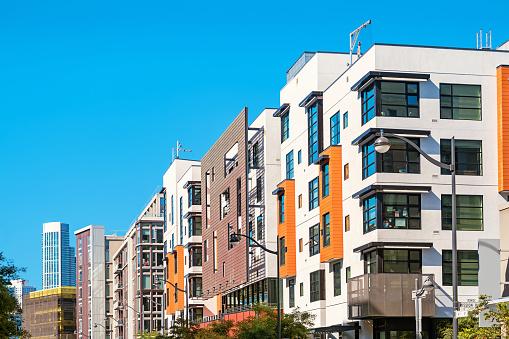 New condos in San Francisco Mission Bay district California