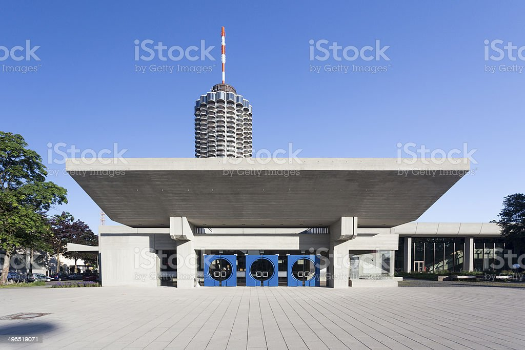 New Congress Hall in Augsburg stock photo