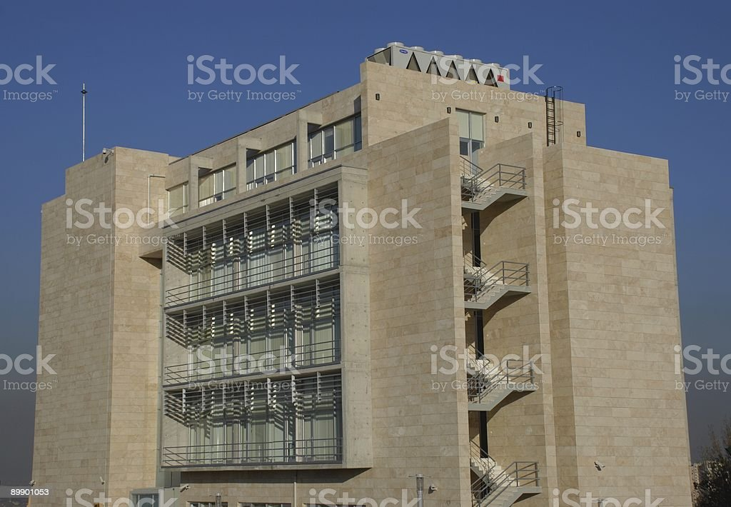 New constructed office building royalty-free stock photo