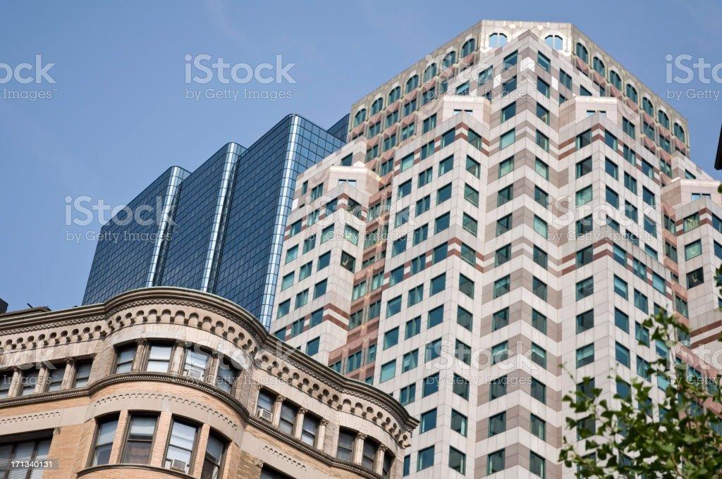 New construction / condominium / hotel stock photo