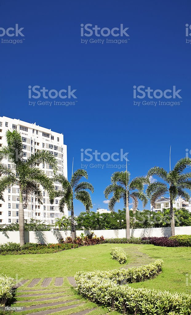 New Construction In South East Asia royalty-free stock photo