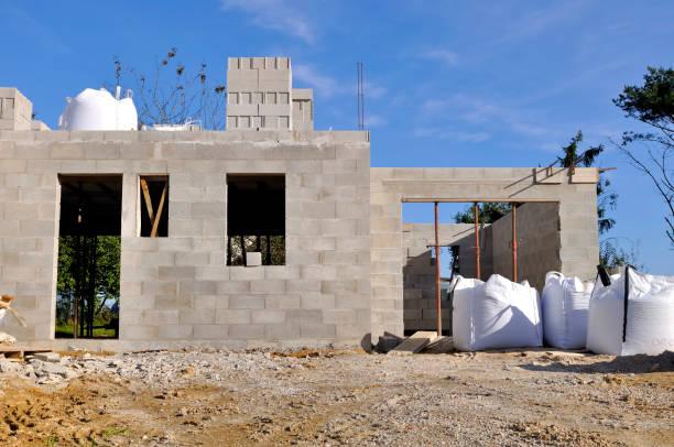 Construcción nueva - foto de stock