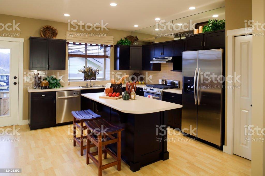 Nouvelle cuisine moderne Intérieur de maison - Photo