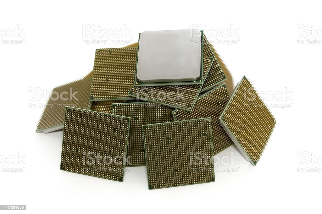 New CPU's #4 royalty-free stock photo