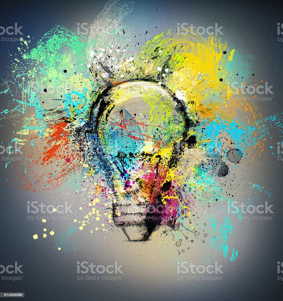 Nuove idee creativo foto stock royalty-free