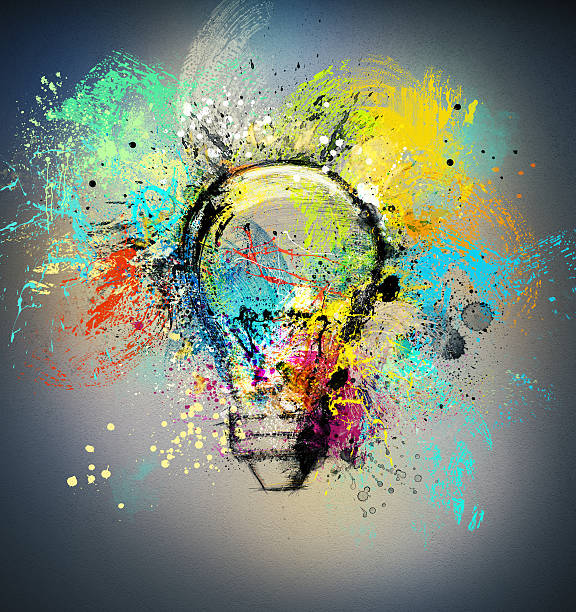 Nuove idee creativo - foto stock