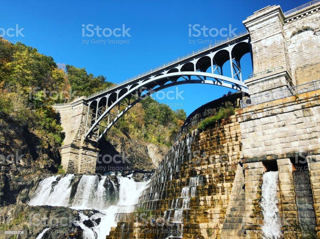 New Croton Dam stock photo