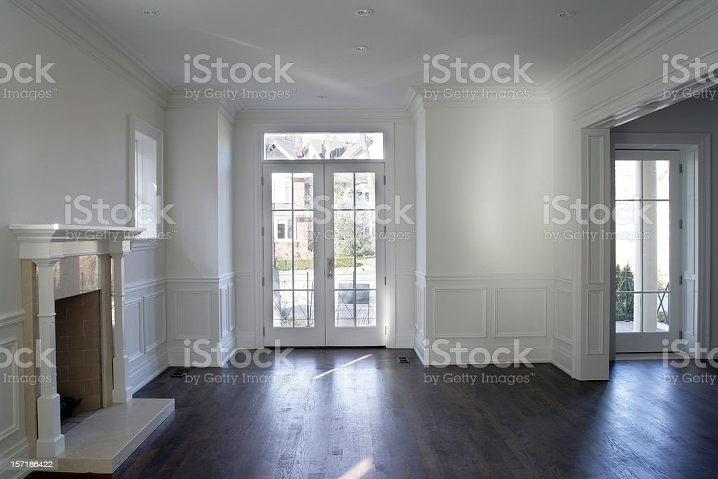 New Cuctom Interior royalty-free stock photo