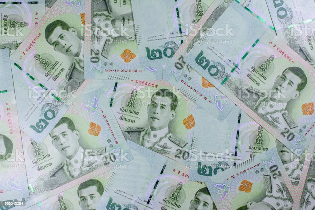 New currency of Thai baht - Royalty-free Asia Stock Photo