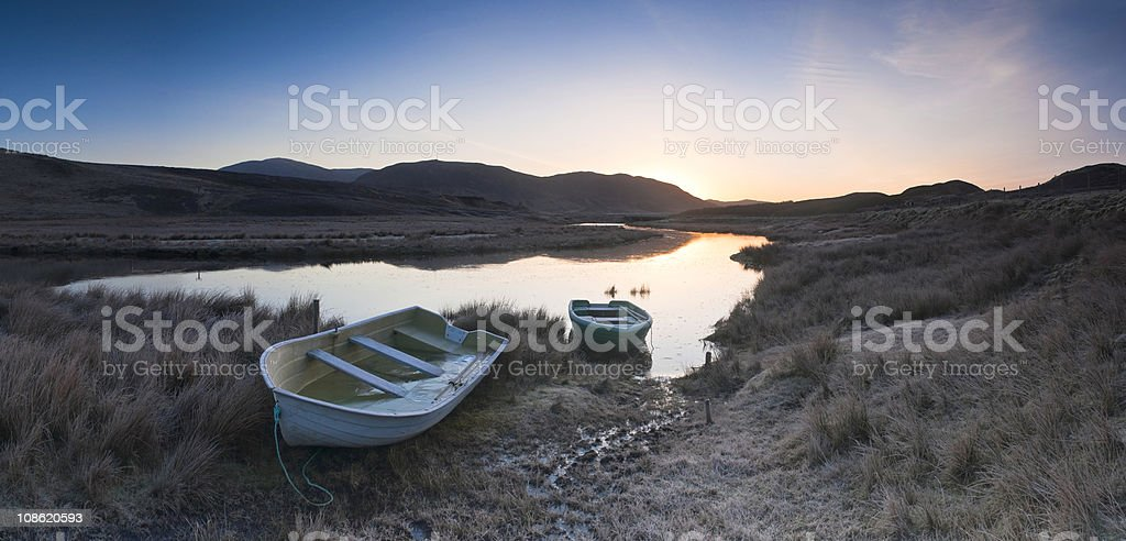 XXXL New day dawning royalty-free stock photo