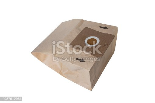 istock New disposable cardboard dust bag for vacuum cleaner isolated on white 1087612964