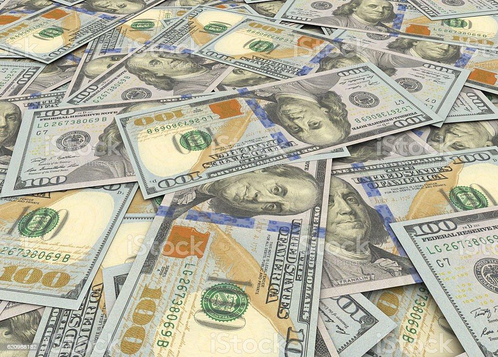 New Dollars foto royalty-free