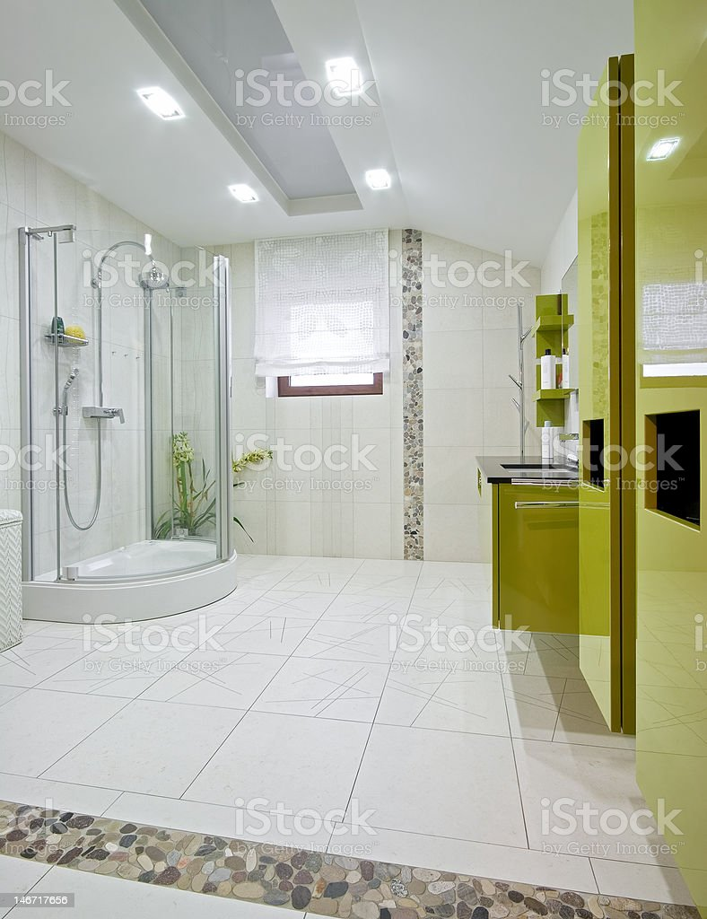 New domestic room royalty-free stock photo