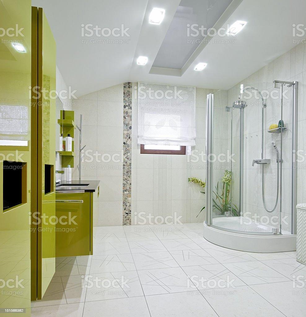New domestic room royalty-free stock photo