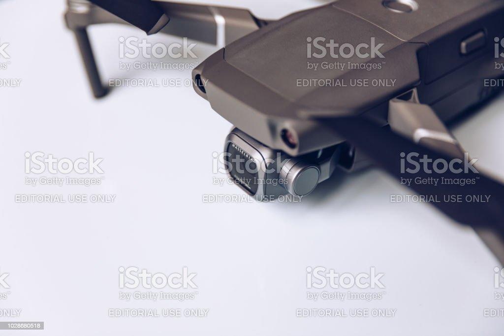 Dji New Drone Mavic 2 Pro With 1 Inch Hasselblad Camera On