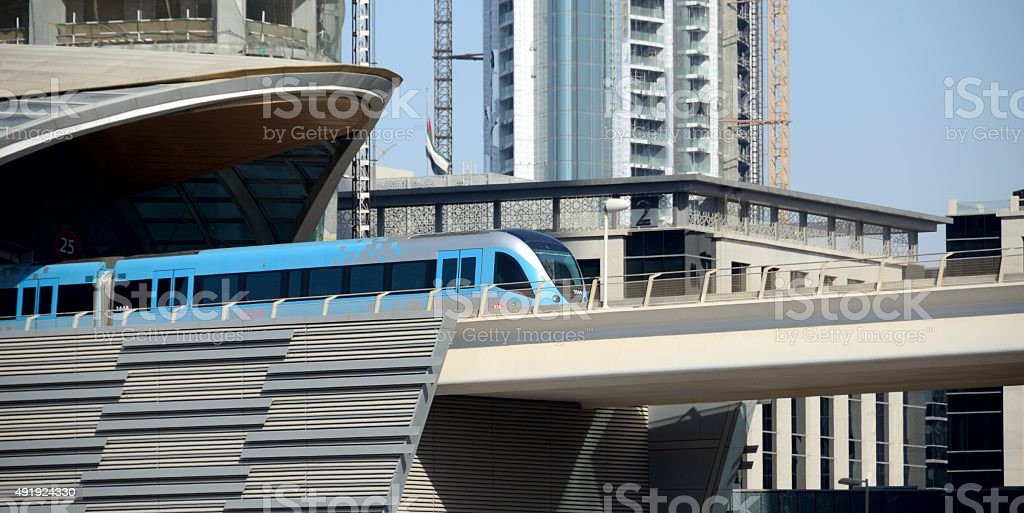 New Dubai stock photo