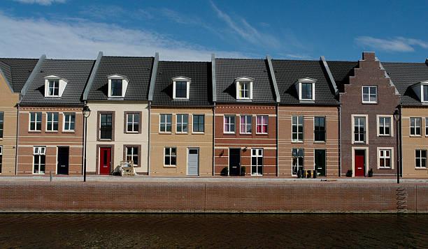 Neue niederländische Häuser – Foto