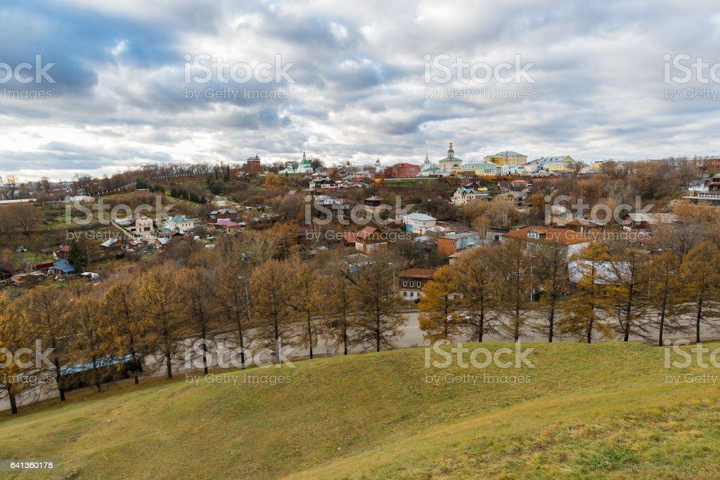 新しい地球市 - ロシアのウラジミールの歴史的なセンター ロイヤリティフリーストックフォト
