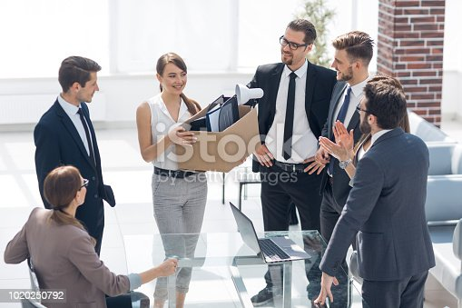 639540494 istock photo new employee is in the workplace 1020250792