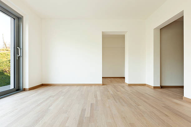 New empty house, room stock photo