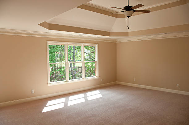 Top 60 Empty Bedroom In A New Home Stock Photos Pictures And